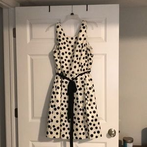Jessica McClintock Dresses - Polka dot dress